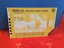 Football Ticket -  UEFA - Roda JC - Chelsea FC - 2002-2003