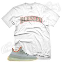 """""""BW BLESSED"""" Sneaker T Shirt for Yeezy 350 Boost Desert Sage V2"""