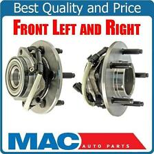 00-03 Ford F150 Pick Up 4x4 4W ABS (2) 100% All New Front Hub Wheel Bearing