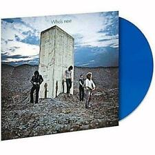 THE WHO – WHO'S NEXT LIMITED BLUE VINYL LP (NEW/SEALED)