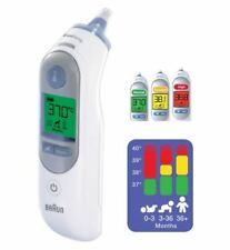Braun Thermoscan 7 Ear Thermometer IRT6520 With Backlight - Baby / Child / Adult