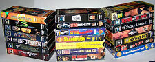 WCW and WWF VHS Video Cassette Lot of 21 - WWE - WWF - NWO - WCW - Some Rare!