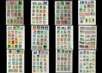 Stamp Collection From Germany Bayern Danzig DDR & A Few From United States