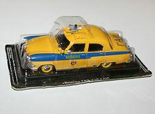 Gaz russe trafic police (jaune) - modèle échelle 1/43
