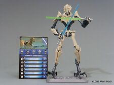 STAR WARS GENERAL GRIEVOUS BATTLE DAMAGE CLONE COLLECTION CW10 TCW SOTDS LOOSE