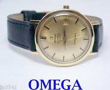 18k OMEGA CONSTELLATION Date Automatic Watch 1960s Cal 561* EXLNT SERVICED