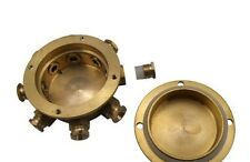 10 Routes Fountain NozzleUnderwater Waterproof Brass junction box Junction Case