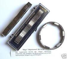 Magnetarmband Edelstahl Armband Magnettherapie * MAGOR * Qualität   GESTEMPELT