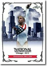 SHANNON MILLER 2013 LEAF NATIONAL EXCLUSIVE COLLECTORS PROMO CARD!