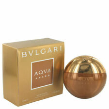 AQVA AMARA BVLGARI EDT Eau De Toilette Men 1.7 oz / 50 ml New in box