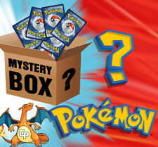 MYSTERY BOX POKEMON CARTE PSA BGS SHINY GOLD EX GX BOX PACCHETTI SIGILLATI Lotto