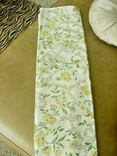 "VINTAGE SHOWER CURTAIN FLORAL 72"" W X 73"" LONG"