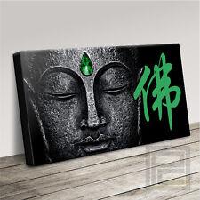 BUDDHA CHINESE SYMBOL EMERALD FOR ABUNDANCE CANVAS ART PRINT PICTURE ArtWilliams