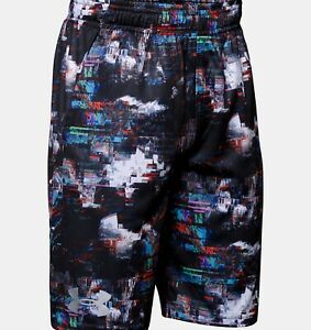 Boys Under Armour Printed Velocity Short-Size XS NWT