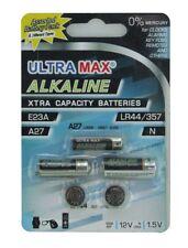 Ultramax Alcaline assortiti pacco batteria 5X 1x A27, 1x E23a, 1x N, 2x LR44