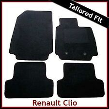 Renault Clio Mk3 2009-2014 Facelift Tailored Fitted Carpet Car Floor Mats BLACK
