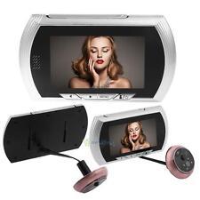 "4.3""LCD Doorbell Peephole Viewer PIR Motion Sensor Security Camera Video Monitor"