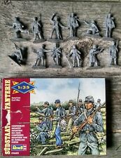 Revell Confederate Infantry American Civil War Figures 1:35 #02602