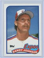 1989 Topps #647 RANDY JOHNSON Rookie RC (Expos) HOF