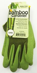 Bellinghom 2500200 The Bamboo Gardener Rubber Palm Gloves Large QTY 12 Pairs