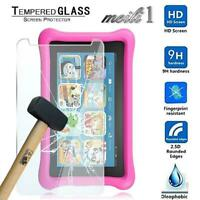 """2 X Tempered Glass Screen Protector For Amazon Kindle Fire Kids Edition 8"""" 2017"""