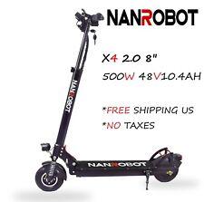 Us Nanrobot X4 2.0 Electric Scooter 500W E-scooter 25Mph Folding 48V Skateboard