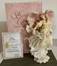 """Seraphim Classics Chloe """"Nature's Gift"""" Angel #78068 1997 Limited Edition In Box"""
