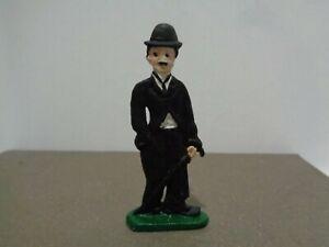 Vintage Entertainer Charlie Chaplin Lead Toy Figurine