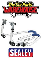 Sealey Motorcycle Height Adjustable Front/Rear Combination Stand RPS5