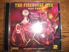 The Firehouse Five-Plus Two-Settin The World On Fire-2 Cd-2006 Jasmine!