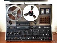 Tonbandgerät von Philips N 4506 voll funktioniert (sehen Sie Videobeweis) TOP!