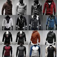 Men's Hooded Hoodie Sweatshirt Sweater Jumper Outwear Coat Jacket Blouse Shirts