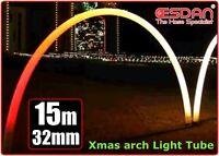 CHRISTMAS XMAS LIGHT OUTDOOR TUBING LDPE NON TOXIC UV ARCHES 32mm x 38mm x 15m