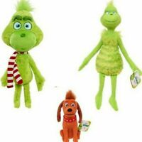 New Hot Rare Christmas Grinch Plush Doll Soft Toy Stuffed Teddy Kids Xmas Gift