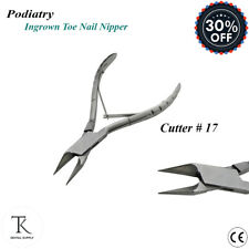 Toe Nail Nippers Ingrowing Thick Nail Cutters Clippers Chiropody Podiatry Tools