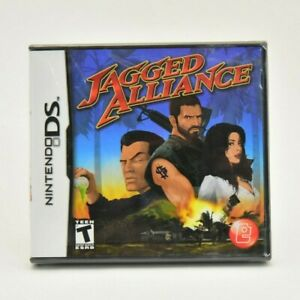 Jagged Alliance (Nintendo DS) NEW