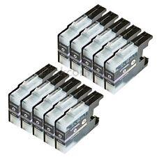 10x LC1240 bk XL Drucker DCP J725DW J925DW J525W J430W J5910DW J625DW