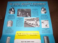 1955 De Laval Separator Company Advertising Calendar Great Condition