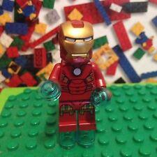 Lego Marvel Superheroes Iron Man Minifigure Circle on Chest Quinjet 6869