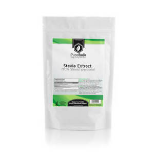 Stevia Extract 90% Powder 3rd Party Tested by PureBulk (Variations)