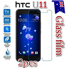 2x HTC U11 U 11 Tempered Glass / Pet LCD Screen Protector Film Guard