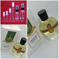 Parfums Vintage EMPEROR EXTRAIT AUTHENTIC SAMPLE 1ml 2ml 3ml 5ml 10ml Glass