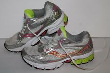 Saucony Ignition 3 Running Shoes, #15121-5, White/Pink/Yellow, Womens US Size 6