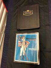 Scott US Minuteman Stamp Album  , Also WHITE ACE stamp binder , Unused Pages