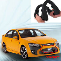 Car Front Bumper Guard AntiCollision License Plate Frame Protection Rubber Cover