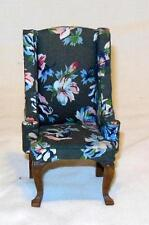 QUEEN ANNE OCCASIONAL CHAIR DOLLHOUSE FURNITURE MINIATURES