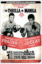 Muhammad Ali vs. Joe Frazier Boxing Large Maxi Poster Art Print 91x61 cm