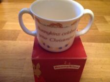 Royal Doulton Bunnykins Celebrate Your Christening Cup New & Boxed.