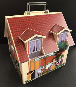 Playmobil Carry Along Dolls House 2005 Geobra  Incomplete