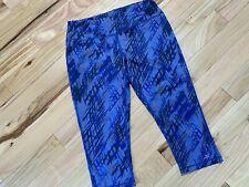 Gsx Gander Mountain Yoga/Exercise Pants Sz Large Women (12-14) Purple & Navy